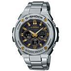 ショッピングShock G-SHOCK Gショック ジーショック G-STEEL Gスチール カシオ CASIO 電波 ソーラー アナデジ メンズ 腕時計 ゴールド GST-W310D-1A9JF 国内正規モデル