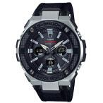 ショッピングShock G-SHOCK Gショック ジーショック G-STEEL Gスチール カシオ CASIO アナデジ 腕時計 電波 ソーラー ブラック シルバー GST-W330AC-1AJF 国内正規モデル