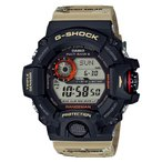 ショッピングGW カシオ CASIO G-SHOCK カシオ Gショック マスターオブG 電波ソーラー レンジマン 腕時計 ブラック×ベージュ GW-9400DCJ-1JF GW-9400DCJ-1 国内正規モデル