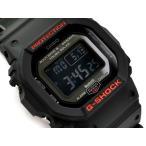 G-SHOCK Gショック ジーショック Bluetooth モバイルリンク機能 逆輸入海外モデル カシオ 電波 ソーラー デジタル 腕時計 ブラック レッド GW-B5600HR-1