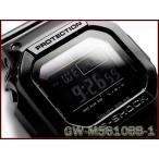 ショッピング予約 [予約商品 12/13日前後入荷予定]Gショック ジーショック G-SHOCK カシオ グロッシー・ブラック 電波ソーラー デジタル 腕時計 オールブラック GW-M5610BB-1