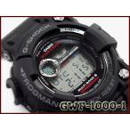G-SHOCK Gショック ジーショック マスターオブG フロッグマン FROGMAN 逆輸入海外モデル カシオ CASIO  ソーラー 電波時計 メンズ 腕時計 ブラック GWF-1000-1