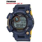 G-SHOCK Gショック マスターオブG 限定 フロッグマン FROGMAN CASIO 電波ソーラー デジタル 腕時計 ネイビーブルー GWF-D1000NV-2JF 国内正規モデル