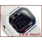 ショッピングShock G-SHOCK Gショック ジーショック g-shock gショック G-LIDE Gライド ソーラー電波 デジタル ホワイト×ブルー GWX-5600C-7JF  CASIO 腕時計