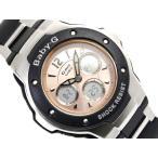 ベビーG カシオ Baby-G 腕時計 ベビーG G-ms BABY-G アナデジ腕時計 シャンパンオレンジ×ブラック×シルバー MSG-300C-1BDR