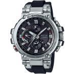 ショッピングShock G-SHOCK Gショック ジーショック カシオ CASIO アナログ 腕時計 電波 ソーラー スマートフォンリンク ブラック シルバー MTG-B1000-1AJF 国内正規モデル