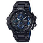 ショッピングShock G-SHOCK Gショック ジーショック MT-G カシオ CASIO アナログ 腕時計 電波 モバイルリンク ブラック ブルー MTG-B1000BD-1AJF 国内正規モデル