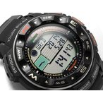 CASIO PRO TREK PROTREK カシオ プロトレック トリプルセンサー搭載 電波ソーラー デジタル 腕時計 ブラック PRW-2500R-1