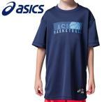 【メール便対応】アシックス バスケットボール Jr.グラフィックショートスリーブトップ ジュニア 2064A035-400