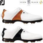フットジョイ FJ アイコン ブラック ボア ゴルフシューズ メンズ ICON BLACK Boa