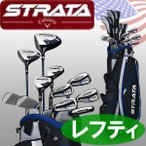 キャロウェイ ストラータ プラス クラブセット レフティ 11本+キャディバッグ Strata Plus 16-Piece USAモデル
