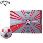 キャロウェイ クロムソフトX トゥルービス ゴルフボール 1ダース(12P) 2017モデル CHROME SOFT X 日本正規品