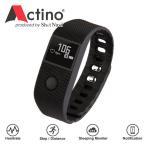 アクティノ ヘルスケアバンド 手首で測れる心拍+活動量計リストバンド WB001 時計 Actino