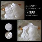 【二点以下DM便対応可】ラウンドカラー¥/レギュラーカラー 2タイプから選べる キッズ用付け襟 子供用 つけ襟 ティペット ワイシャツ シャツ風