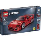 レゴ ブロック セット LEGO Creator Expert Ferrari F40 10248 Supercar Builder Toy Set Racing Car Red