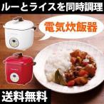 電気鍋 一人用 調理器具 同時調理 二段調理 ほったらかし…