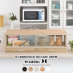 Yahoo!家具と雑貨のラックス調味料 収納 食器棚 ラック 台所収納棚 木製 おしゃれ 送料無料