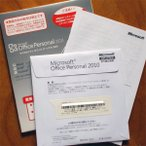 ショッピングOffice Microsoft Office Personal 2010 OEM版 開封済