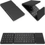 Tek Styz Foldable Bluetooth Keyboard Works for Xiaomi MI Mix 2 Dual Mode Bl