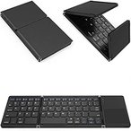 Tek Styz Foldable Bluetooth Keyboard Works for vivo iQOO 3 5G Dual Mode Blu