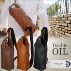 ショッピングボディ ボディバッグ メンズ ダブルオイル 牛革 2way バギーポート Baggy Port grn 103 oil leather 本革 奥深い経年変化が魅力