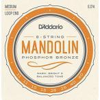 D'addario/マンドリン弦/EJ74 Mandolin/Meduim/Phospor Bronze【メール便OK】
