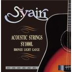 【メール便発送・代引不可】【S.yairi(S.ヤイリ)】アコースティックギター弦 SY-1000L