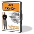 [DVD] ノラ・ジョーンズ/ドント・ノウ・ホワイ(ピアノの教則DVD)【DM便送料無料】(Norah Jones - Piano Guy 1-on-1 Series,The - Don't Know Why)《
