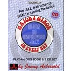 [楽譜] ジェイミー Vol.24 メジャーとマイナーのスケール練習曲集(CD付)【5,000円以上送料無料】(VOLUME 24 - MAJOR AND MINOR)《輸入楽譜》