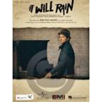 [楽譜] ブルーノ・マーズ/イット・ウィル・レイン《輸入ピアノ楽譜》【DM便送料別】(Bruno Mars/It Will Rain)《輸入楽譜》