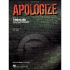 [楽譜] ティンバランド/アポロジャイズ《輸入ピアノ楽譜》【DM便送料別】(Timbaland/Apologize)《輸入楽譜》