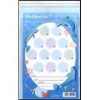 ビニール月謝袋 水色 イルカ 4-02-15 1セット10枚入り