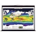 世界環境地図セット(紙製布軸装) (メーカー取り寄せ10−14日)