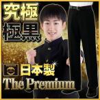 学生服 ズボン 日本製 帝人プレミアム 超々黒EXTRA BL