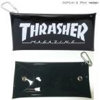 THRASHER  スラッシャー クリアペンケース 半透明 筆箱