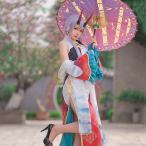 Fate/Grand Order 巴御前 英霊旅装 アーチャー・インフェルノ コスプレ衣装 wow557【送料無料】(wow557)
