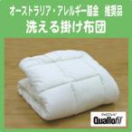 アレルギークリーン3 洗える掛け布団(ウォッシャブル・丸洗いOK) ダブル アレルギー・アトピーの方に最適