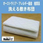 アレルギークリーン2 洗える敷き布団(ウォッシャブル・丸洗いOK) セミダブル アレルギー・アトピーの方に最適