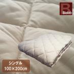 ベッドパッド シングル (100×200cm) 抗菌防臭 丸洗い 洗える ウォッシャブル ベットパット ベットパッド