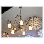 照明 照明器具 シャンデリア LED 天井照明  新品 シンプルデザイン5灯シャンデリア おしゃれ 豪華 アンティーク ライト インテリア