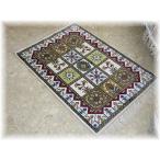 絨毯 ペルシャ絨毯 カーペット ラグ 玄関マット 室内 激安 新品 1点限り 高級手工芸品 天然シルク100% 新品イーストペルシャ 段通絨毯 豪華 シルク 激安