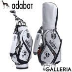 アダバット キャディバッグ adabat GOLF ゴルフ ゴルフバッグ 5分割 9.0型 47インチ フード付き ショルダー メンズ レディース ABC401