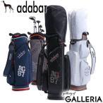 アダバット キャディバッグ adabat GOLF ゴルフ 軽量 ゴルフバッグ 5分割 9.0型 47インチ フード付き ショルダー メンズ レディース ABC404