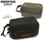 ブリーフィング   公式正規品  DOUBLE ZIP POUCH-3 GOLF ポーチ BG1812401 BLACK