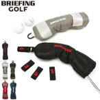 最大24%獲得 日本正規品 ブリーフィング ヘッドカバー BRIEFING ゴルフ ユーティリティ GOLF UTILITY COVER RIP メンズ レディース BRG191G36