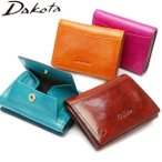 ダコタ 財布 Dakota 三つ折り財布 バンビーナ ミニ財布 レディース 本革 0036121