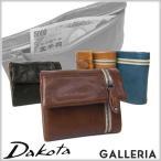 ダコタ Dakota BLACK LABEL ブラックレーベル バルバロ 三つ折り財布 0624702(0623002) Dakota(ダコタ) 小銭入れあり メンズ