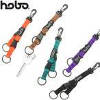 最大10%獲得 ホーボー キーホルダー hobo Nylon Tape Key Ring with Double Buckle キーリング メンズ レディース HB-A3004