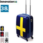 12/14〜16★最大44%獲得 正規品2年保証 イノベーター スーツケース innovator 機内持ち込み 小型 キャリーケース ファスナー INV48T 38L