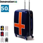 イノベーター スーツケース innovator 小型 軽量 50L 4輪 TSA キャリーケース ファスナー INV55T